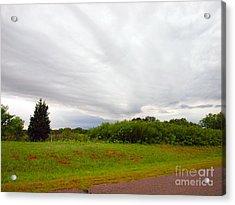 Stormy Cloud Acrylic Print by Mickey Harkins