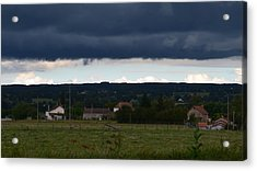 Stormy Countryside Acrylic Print