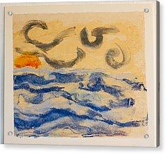 Stormy Dawn Acrylic Print