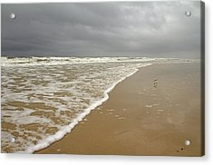 Stormy Day On Topsail Acrylic Print by Betsy Knapp