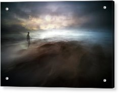 Stormy Days In Nowhere Acrylic Print
