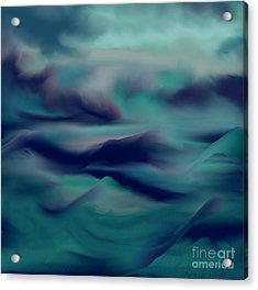 Stormy Days Acrylic Print by Lori  Lovetere