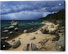 Acrylic Print featuring the photograph Stormy Days  by Sean Sarsfield