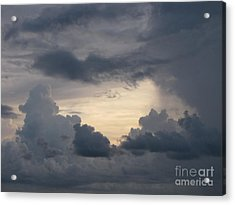 Stormy Evening Acrylic Print by Gayle Melges