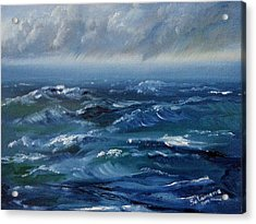 Stormy Monday Acrylic Print