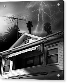 Stormy Monday Acrylic Print by Larry Butterworth