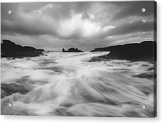 Stormy Morning Acrylic Print by Roy  McPeak
