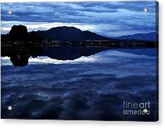 Stormy Reflection Acrylic Print