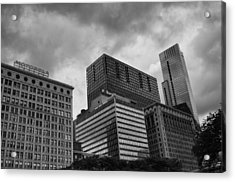 Acrylic Print featuring the photograph Stormy Skies by Miguel Winterpacht