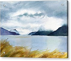 Stormy Sky Over Turnagain Arm Acrylic Print