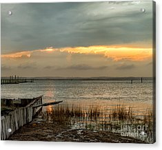 Stormy Sunset Acrylic Print by Dale Nelson