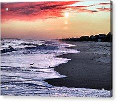 Stormy Sunset Acrylic Print by Patricia Januszkiewicz