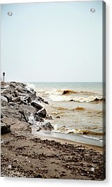 Acrylic Print featuring the photograph Stormy Weather by Courtney Webster