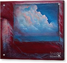 Stormy Weather Acrylic Print by Cynthia Vaught