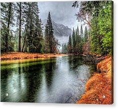 Stormy Yosemite II Acrylic Print