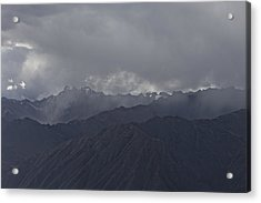 Storm Over The Andes Acrylic Print