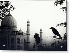 Story About 2 Lovers Acrylic Print by Piet Flour