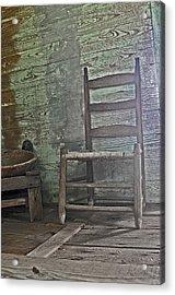 Story Chair Acrylic Print by Cheri Randolph