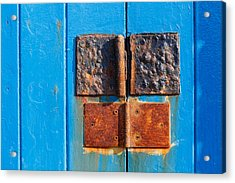 Story In Rust Acrylic Print