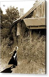 Story Of A Girl - Rural Life Acrylic Print