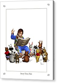 Story Time Pals Acrylic Print
