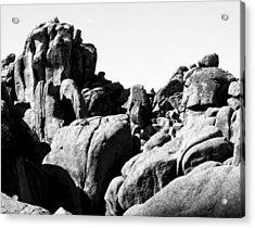 Story Told By The Rocks Acrylic Print by Carolina Liechtenstein