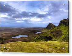 Storybook Beauty Of The Isle Of Skye Acrylic Print by Mark E Tisdale