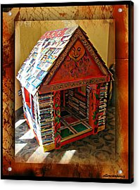 Storybook Ending Acrylic Print by Ellen Cannon