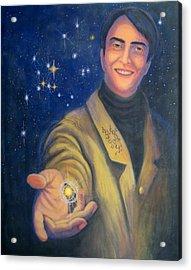 Storyteller Of Stars - Artwork For The Science Tarot Acrylic Print
