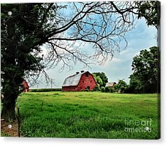 Stovall Farms In The Mississippi Delta Acrylic Print