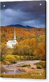Stowe Church Acrylic Print by Brian Jannsen