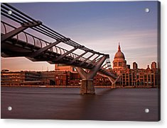St.paul's From The South Bank Acrylic Print