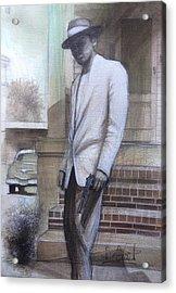 Str8 Gangster Acrylic Print