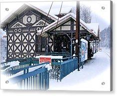 Strafford Station Acrylic Print