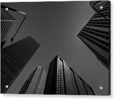 Straight Up Chicago 002 Acrylic Print by Lance Vaughn