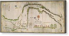 Straits Of Magellan Acrylic Print