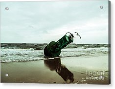 Acrylic Print featuring the photograph Stranded by Angela DeFrias