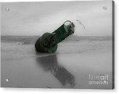Acrylic Print featuring the photograph Stranded Too by Angela DeFrias