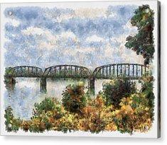 Strang Bridge Acrylic Print
