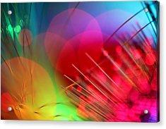 Strange Days Acrylic Print by Dazzle Zazz