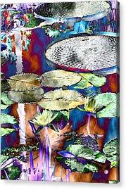 Strange Daze Acrylic Print by Bobbie Barth