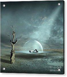 Strange Dreams II Acrylic Print by Franziskus Pfleghart