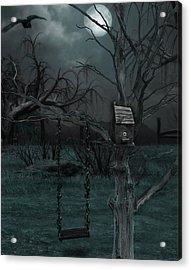 Strange Eyedea Acrylic Print