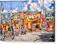 Strangest Show On Earth 2013 Acrylic Print by Joseph Duba