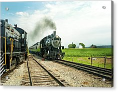 Strasburg Express Acrylic Print by Paul W Faust -  Impressions of Light