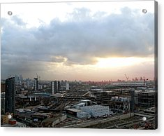 Acrylic Print featuring the photograph Stratford 2 by Helene U Taylor