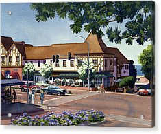 Stratford Square Del Mar Acrylic Print by Mary Helmreich