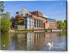 Stratford Upon Avon Royal Shakespeare Theatre Acrylic Print by Colin and Linda McKie