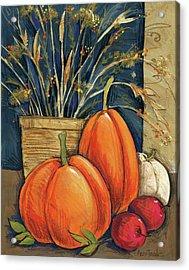 Straw Basket Acrylic Print