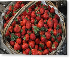 Strawberry Basket Acrylic Print